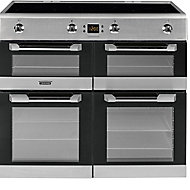 Leisure CS100D510X Freestanding Electric Range cooker with Induction Hob