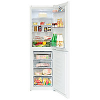 Beko CFG1582W 50:50 White Freestanding Fridge freezer