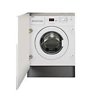 Beko WIY84540F White Built-in Washing machine, 8kg