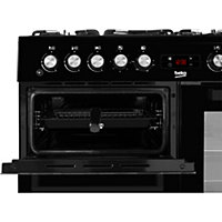 Beko KDVF100K Freestanding Dual fuel Cooker with Gas Hob