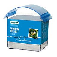 Gardman Plastic Window bird feeder (H)140mm (W)200mm (L)90mm