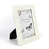 Cream Single frame Resin Picture frame (H)200mm x (W)150mm