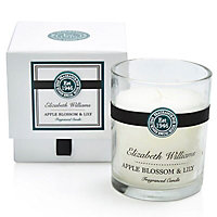 Elizabeth Williams Apple blossom & lily Boxed jar candle