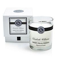 Elizabeth Williams Sweet pea & freesia Boxed jar candle