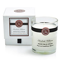 Elizabeth Williams White tea & ginger Boxed jar candle