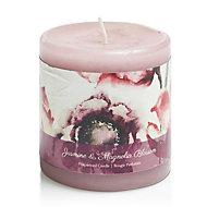 Bloom Jasmine & magnolia Pillar candle