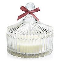 Trinket Rose & hydrangea Filled candle Medium