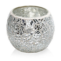 Mirror Mosaic Glass Tealight holder