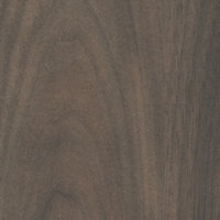 50mm Romantic Walnut effect Laminate Kitchen Breakfast bar Worktop (L)2000mm