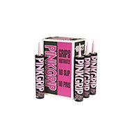 Everbuild Pinkgrip Solvented Grab Adhesive, Pack of 12