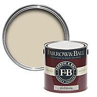 Farrow & Ball Estate Off white No.3 Matt Emulsion paint, 2.5L