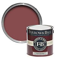 Farrow & Ball Estate Eating room red No.43 Matt Emulsion paint, 2.5L