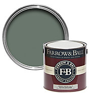 Farrow & Ball Estate Green smoke No.47 Matt Emulsion paint, 2.5L