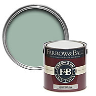 Farrow & Ball Estate Green blue No.84 Matt Emulsion paint, 2.5L