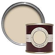 Farrow & Ball Estate Off white No.3 Emulsion paint 100 Tester pot