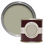 Farrow & Ball Estate French gray No.18 Emulsion paint, 0.1L Tester pot