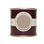 Farrow & Ball Estate Dead salmon No.28 Emulsion paint 100ml Tester pot