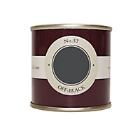Farrow & Ball Estate Off-black No.57 Emulsion paint 100ml Tester pot