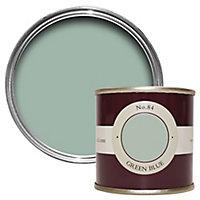 Farrow & Ball Estate Green blue No.84 Emulsion paint 100ml Tester pot