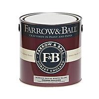 Farrow & Ball Modern School house white No.291 Matt Emulsion paint, 2.5L