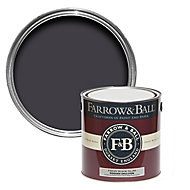 Farrow & Ball Modern Paean black No.294 Matt Emulsion paint, 2.5L