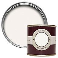 Farrow & Ball Estate All white No.2005 Emulsion paint, 0.1L Tester pot