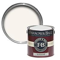 Farrow & Ball Estate All white No.2005 Matt Emulsion paint, 2.5L
