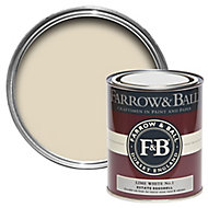 Farrow & Ball Estate Lime white No.1 Eggshell Metal & wood paint, 0.75L