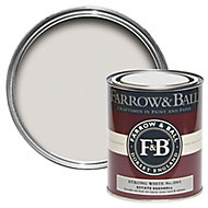 Farrow & Ball Strong White no.2001 Estate Eggshell paint 750 ml