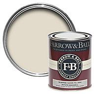 Farrow & Ball Estate Slipper satin No.2004 Eggshell Metal & wood paint, 0.75L