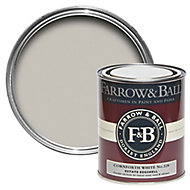 Farrow & Ball Estate Cornforth white No.228 Eggshell Metal & wood paint, 0.75L