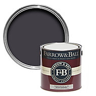 Farrow & Ball Estate Paean black No.294 Eggshell Metal & wood paint, 2.5L