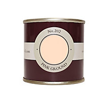 Farrow & Ball Estate Pink ground No.202 Emulsion paint, 0.1L Tester pot