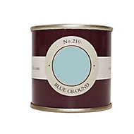 Farrow & Ball Estate Blue ground No.210 Emulsion paint 100 Tester pot
