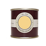 Farrow & Ball Estate Yellow ground No.218 Emulsion paint 100ml Tester pot