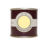 Farrow & Ball Estate Dayroom yellow No.233 Emulsion paint 100ml Tester pot