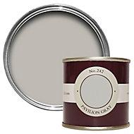Farrow & Ball Estate Pavilion gray No.242 Emulsion paint, 0.1L Tester pot