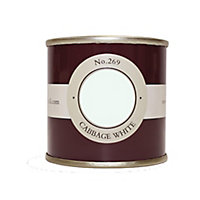 Farrow & Ball Estate Cabbage white No.269 Emulsion paint 100 Tester pot
