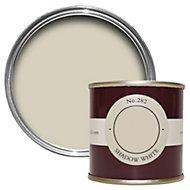 Farrow & Ball Shadow White no.282 Estate emulsion paint 0.1L Tester pot