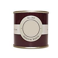 Farrow & Ball Estate Shadow white No.282 Emulsion paint, 0.1L Tester pot