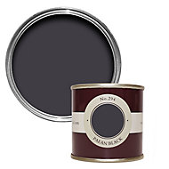 Farrow & Ball Paean black No.294 Matt Emulsion paint 100ml Tester pot