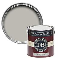 Farrow & Ball Estate Pavilion gray No.242 Matt Emulsion paint 2.5