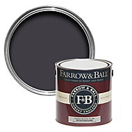 Farrow & Ball Estate Paean black No.294 Matt Emulsion paint, 2.5L
