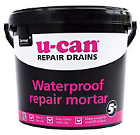 U-Can Waterproof Repair mortar, 5kg Tub