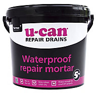 U-Can Waterproof Repair mortar, 5kg Tub