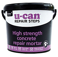 U-Can High strength Concrete repair, 5kg Tub