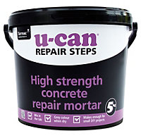 U-Can High strength Concrete repair, 5kg Tub