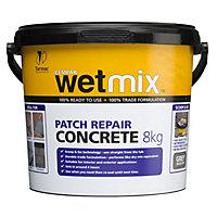 Tarmac Wet mix Concrete repair, 8kg Tub