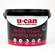 U-Can Ready mixed Pointing Mortar, 4kg Tub