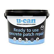 U-Can Ready mixed Concrete repair, 4kg Tub